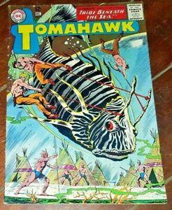 Tomahawk #95, (1964, DC): The Tribe Beneath the Sea!