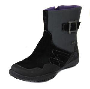 Merrell Women's Black Albany Sky Waterproof Booties Boots Shoes Ret $150 New