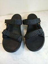 Teva Terra Float Slide Black Hiking Water Sport Sandal Men's Size 11 EU 44.5