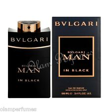 Bvlgari Man in Black Eau de Parfum Spray 3.4oz 100ml * New in Box Sealed *