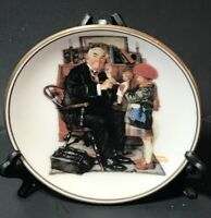 """""""Doctor and Doll"""" The Best Of Norman Rockwell - 1983 Miniature Collectors Plate"""