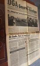 tolle alte Zeitung DGA  Duisburger Generalanzeiger - 1964