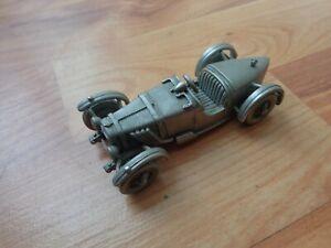 DANBURY MINT 1/43 CLASSIC 1929 BROOKLANDS RILEY 9 PEWTER MODEL CAR