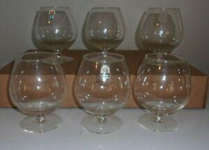 HUMPPILA FINLAND COGNAC/BRANDY GLASSES SET OF 6