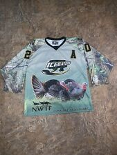 Authentic Lafayette La IceGators Athletic Hockey Jersey Signed Robert Short Rare