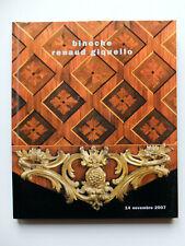 Catalogue archéologie, tableaux anciens, mobiliers, céramiques...