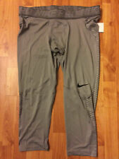 Nike Pro Men's Hypercool Base Layer Compression Tights Size 3XL Grey  828164-003