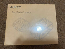 New listing Aukey Dr02 Dual Dash Cam 1080p Hd Front & Rear Camera : Sealed