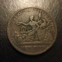 1833 American Institution New York Robinsons Jones & Company Hard Times Token VF
