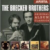 """THE BRECKER BROTHERS """"ORIGINAL ALBUM CLASSICS"""" 5 CD NEU"""