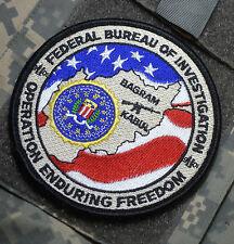 2004 TDY FBI Counterterrorism Division ORS MLDU at Bagram Air Field Afghanistan