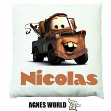 Personalised Boys girls cars story Cushion Pillow Gift Birthday Present Custom