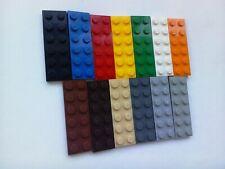 25 x Lego 1x3 Plates Base City Creator Replacement Part 3623 Chose Your Colour