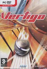 VERTIGO Futuristic Racing Puzzle PC Game NEW in BOX!
