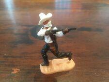 Timpo Masked Bandit - Rare White Ten Gallon Hat - Wild West - 1970's