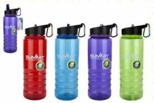 Summit 700ml BPA Free Drinks Bottle with Carabina - Choice of Four Colours