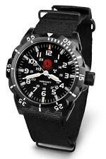 Praetorian® Night Patrol Black - Nato Armband - Tritium Uhr - Einsatzuhr