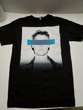 Justin Bieber Purpose Concert Tour Men's Medium Black T Shirt Pre-Owned New