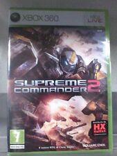 SUPREME COMMANDER 2  Xbox 360 Nuovo!!!