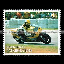 ★ KENNY ROBERTS (1979 YAMAHA) ★ TADJIKISTAN Timbre Moto / Motorcycle Stamp #338
