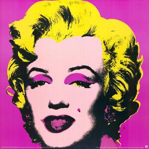 Andy Warhol - Marilyn - pink - Kunstdruck auf schwerem Papier, nach dem Original
