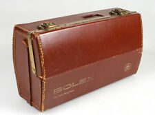 BOLEX ZOOM REFLEX CAMERA CASE/STEAMPUNK PROP W/ UNIQUE LATCHES