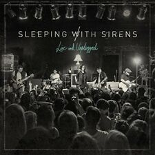 SLEEPING WITH SIRENS - LIVE AND UNPLUGGED   CD NEW!