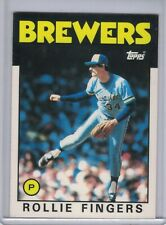ROLLIE FINGERS 1986 Topps Tiffany #185 (Brewers) E1750