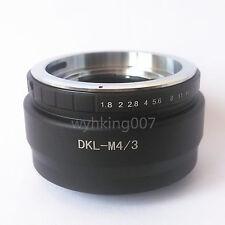 Voigtlander Retina DKL Lens to Micro 4/3 m4/3 Adapter GH1 G1 GF1 EP2 EPL6 GX1 G5