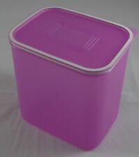 Tupperware A 152 Quadro 2,1 l Lila Violett Dose mit Deckel Neu OVP