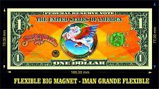 STEVE MILLER BAND IMÁN BILLETE 1 DOLLAR BILL MAGNET