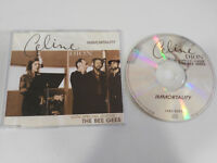 CELINE DION IMMORTALITY WITH BEE GEES MAXI CD 4 TRACKS COLUMBIA 1998