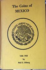 UTBERG's COINS OF MEXICO 3rd Edition 1964, Aztec Calendar etc 168p   - $20