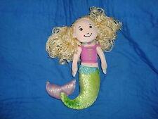 "Groovy Girls Blonde Mermaid MYRA 2002 plush doll 10"" tall"
