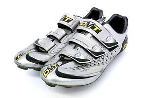 DMT Lightech Carbon Bike - Cycling Shoes size 42.5 (9.5 US) silver