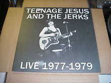 LP:  TEENAGE JESUS & THE JERKS - Live 1977-1979  NEW UNPLAYED LYDIA LUNCH