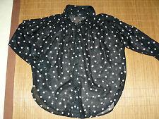 Locker sitzende gepunktete Damenblusen, - Tops & -Shirts im Blusen aus Polyester