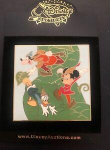 Disney Trading Pin Mickey Donald Goofy & Beanstalk Jumbo  LE 100 DA20027