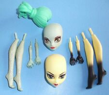 MONSTER HIGH CAM PARTS INSECT GORGON HEADS LOWER LEGS LOWER ARMS WIG FREE SHIP