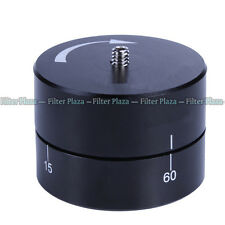 For Gopro DSLR Drift Time Lapse Stabilizer 360° Panning Rotating Tripod Adapter
