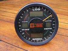 Boat Depth Speed Log Wind Gauge Digital Instrument Mariner Micro