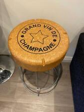 Champagne cork bar stool