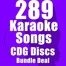 Karaoke Disc Set Bundle CDG CD+G Chart Hits 289 Top Chart Hits 16 Disc Set H