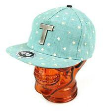 Trukfit Snap Snapback Hat Glow in the Dark Stars Sea Green Metal T Unixex