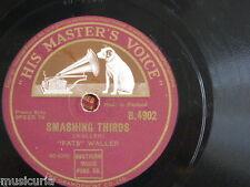 78rpm FATS WALLER smashing thirds / handful of keys ; B4902