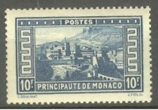 """MONACO STAMP TIMBRE N° 133 """" PALAIS PRINCIER 10F BLEU """" NEUF xx SUP"""