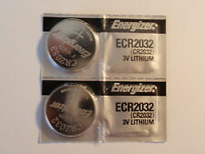 2- CR2032 Energizer Batteries -3V-DL2032 - ECR2032 - USA - Fast Shipping-ZZXX