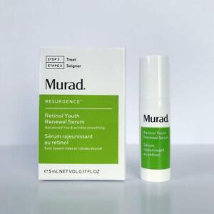 Murad Retinol Youth Renewal Serum Travel Size New in Box 0.17oz / 5ml FRESHEST