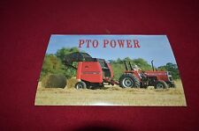 Massey Ferguson 300 Series Tractor Post Card Dealer's Brochure DCPA6 ver2