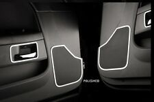 Dodge Challenger Brushed Driver & Passenger Door Speaker Grille Bezel Rings